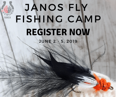 Announcing: 2019 Janos Youth Fly Fishing Camp