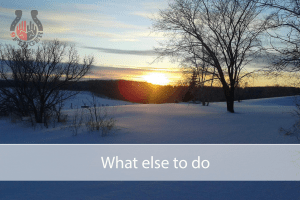 What else to do – winter