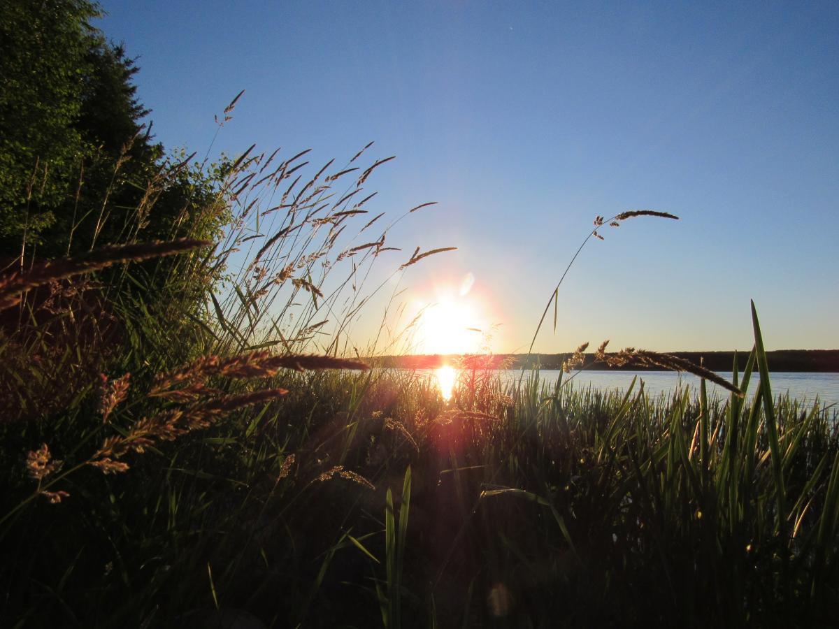 sunset Gunn Lake