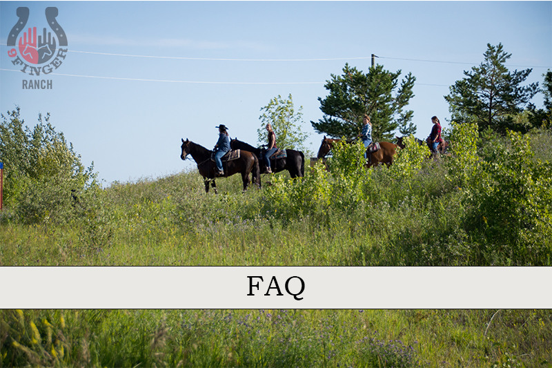 Read more about the article Riding with 9 Finger Ranch: Frequently Asked Questions
