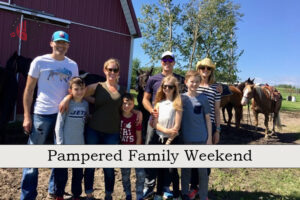 Pampered Family Weekend 2021